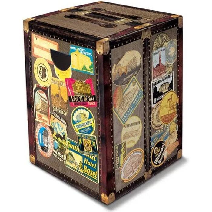 Tabouret Pliable En Carton Dco Tour Du Monde Achat