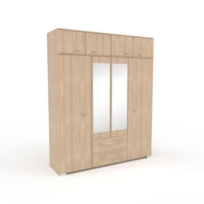 armoire de chambre paris prix armoire 8 portes 2 miroirs