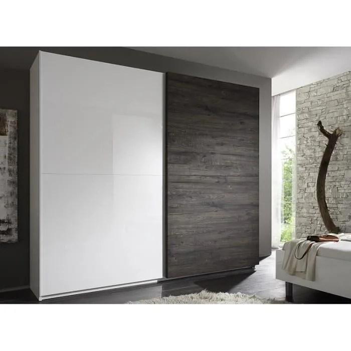 armoire de chambre armoire moderne laquee hauteur 210cm