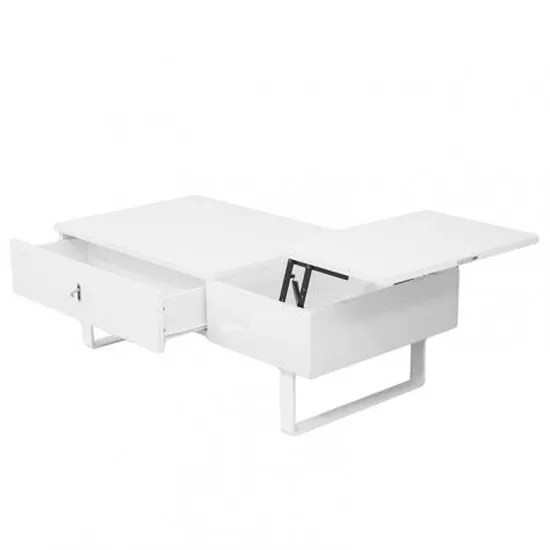 table basse relevable multifonction laque blanc achat vente table basse table basse relevable multi cdiscount