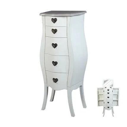meuble bijoux 5 tiroirs
