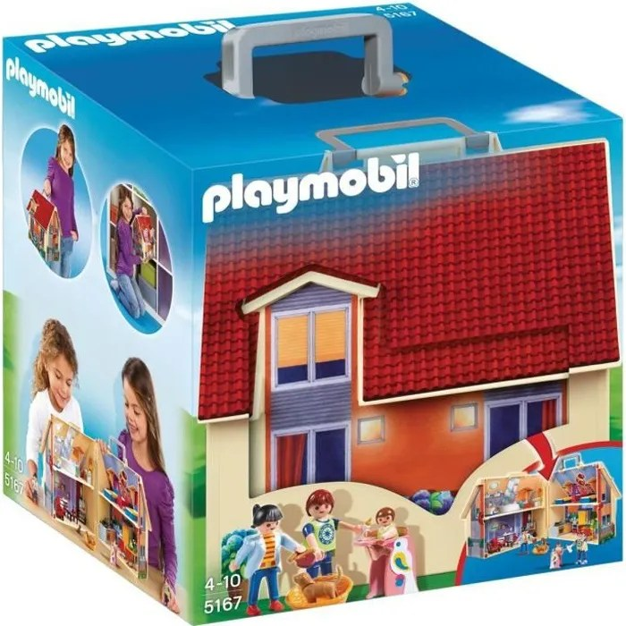 PLAYMOBIL 5167 Maison Transportable Achat Vente