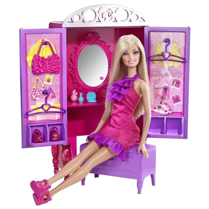 Barbie Larmoire Coiffeuse Achat Vente Maison Poupe