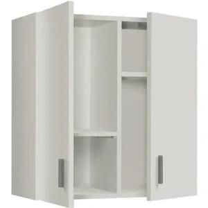 armoire de chambre armoire de rangement suspendue avec 2 portes color