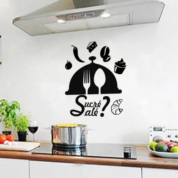 Stickers Muraux De Cuisine Achat Vente Stickers Muraux
