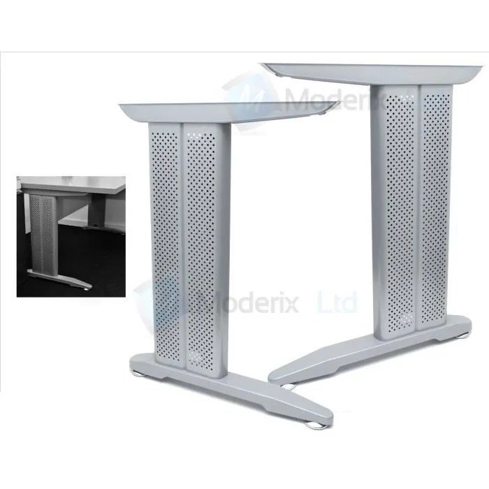 bureau armature en metal pied de table