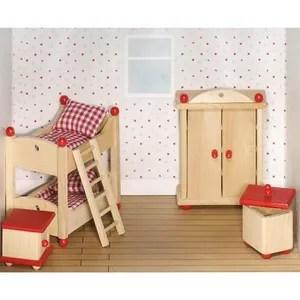 maison poupee meubles pour poupees chambre des enfants 2