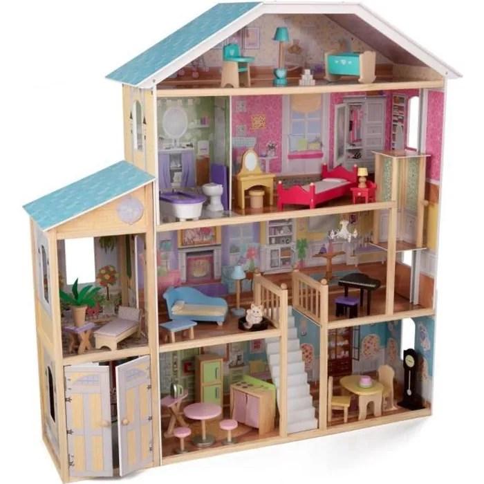 kidkraft maison de poupee majestic en bois