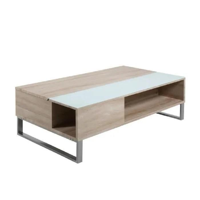 Table Basse Relevable AZALEA En Chne Mlamin Achat