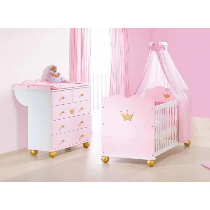 chambre bebe princesse karolin lit bebe commo