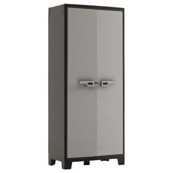 armoire de rangement titan anthracite achat vente coffre d 39 exterieur armoire de rangement