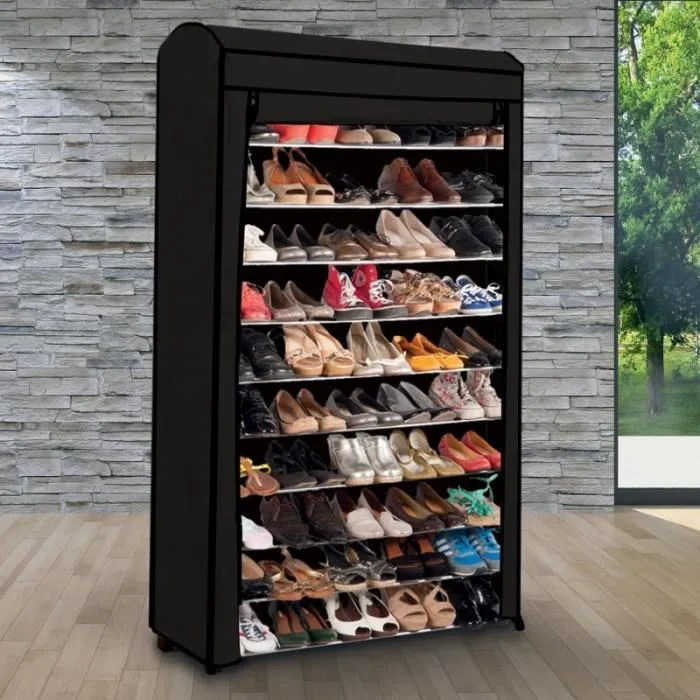 Etagre Range Chaussures 50 Paires ECO Avec Sa Housse