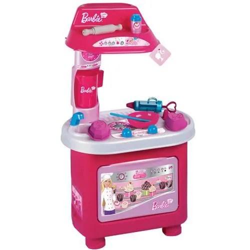 dinette cuisine cuisiniere a patisserie pour enfant barbie