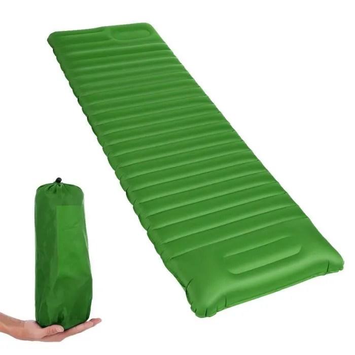 sac pompe offert tapis de sol camping