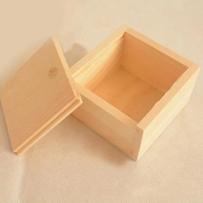 petite boite de rangement en bois