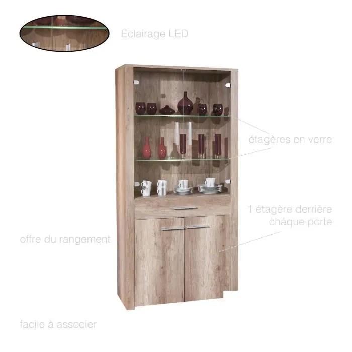 meuble vaisselier vitrine buffet cuisine grand bahut vaisselier rustique meuble contemporain meuble vitre 2 portes 1 tiroir