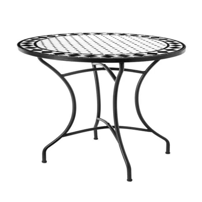 Table Jardin Carreau De Ciment | Knittyschmitty
