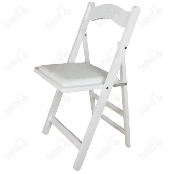 chaise pliante rembourree