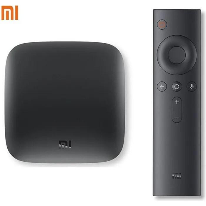 Xiaomi TV Box3 Wifi HDMI amlogic Android6.0 2+8G film Google Fonte Netflix STB IPTV Cortex A53 Quad Core 2.0 GHz Mali-450 media