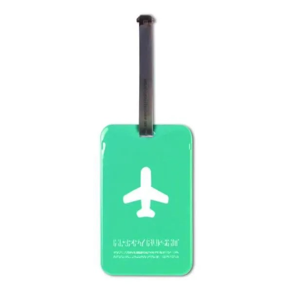 Porte Etiquette pour Bagage Happy Flight  Alife Design    Achat     PORTE ADRESSE Porte Etiquette pour Bagage Happy Flight  Alife De