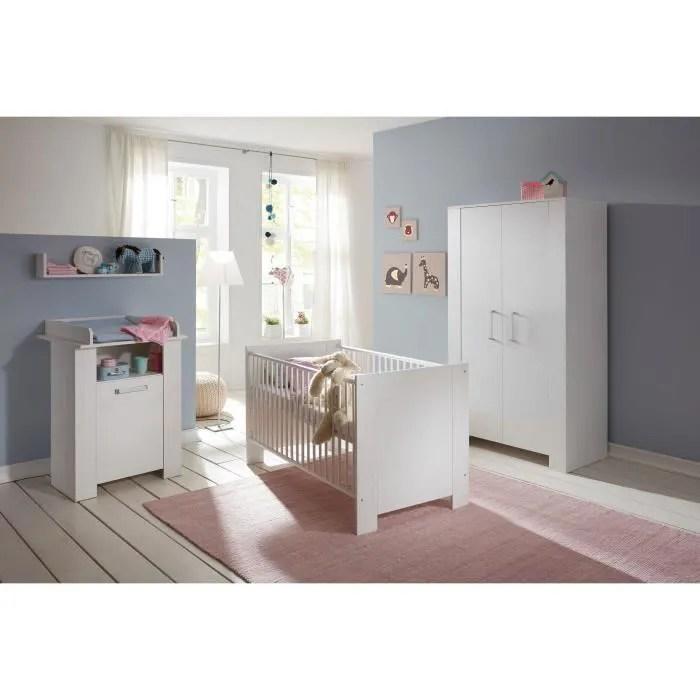 miri chambre bebe complete lit 70x140 cm armoire commode