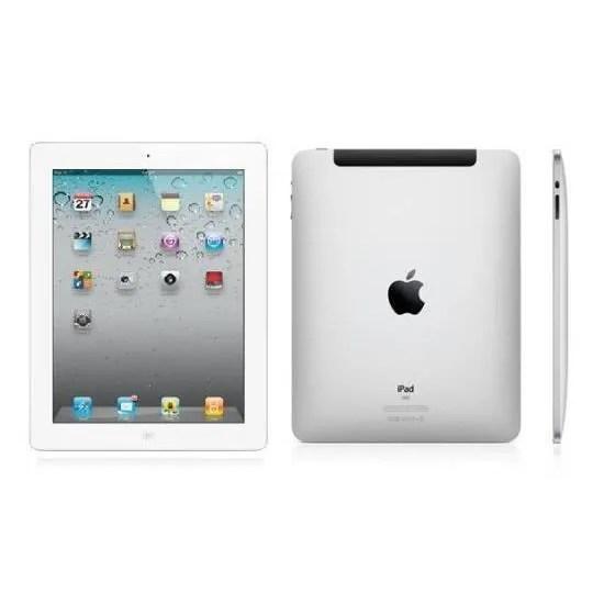 Apple IPad 3 16 Go 3G4G Et Wifi Blanc Prix Pas