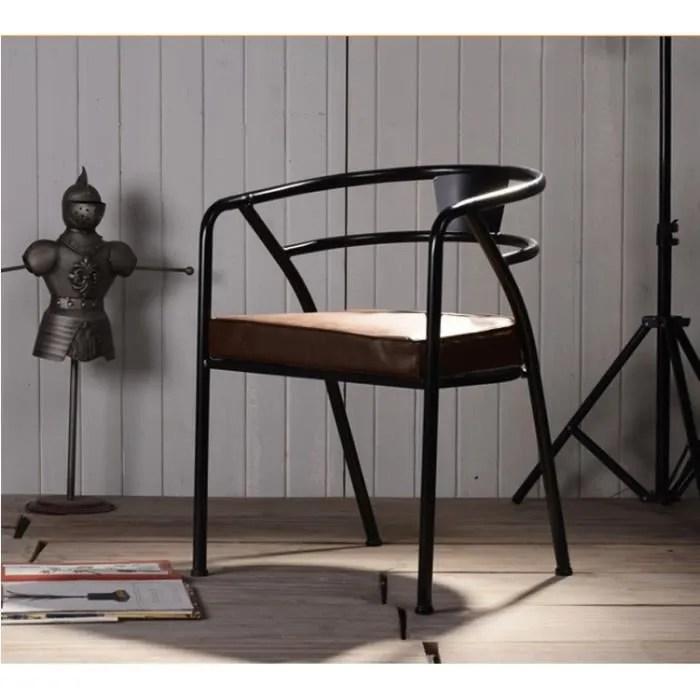 Chaise Fauteuil Design Style Retro Vintage Usine Mtal