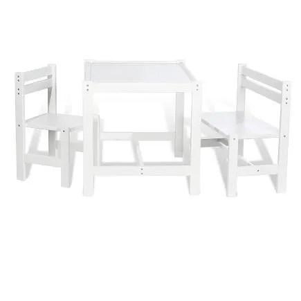 chaise enfant banc et table pour enfant timo