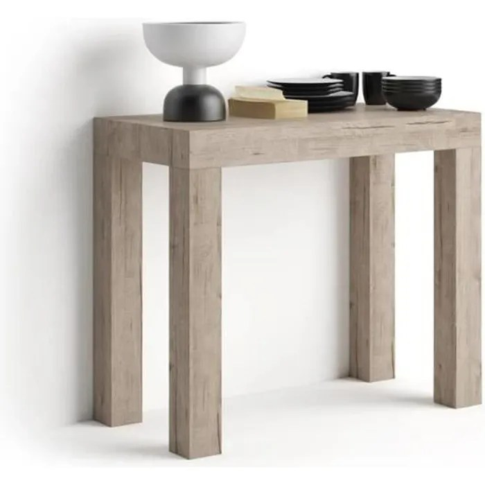 table console extensible first chene