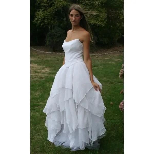 robe de mariee le bo paris 40 jupon bustier t