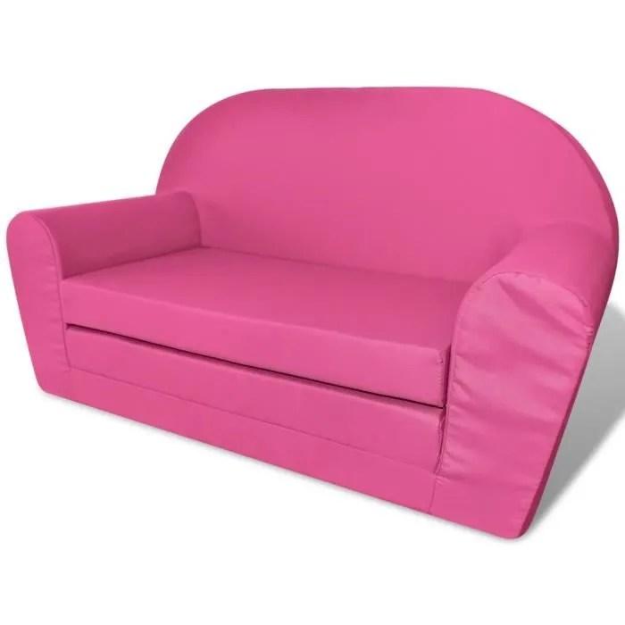 fauteuils club fauteuils inclinables et chauffeuses lits chaise longue pliable pour enfants rose