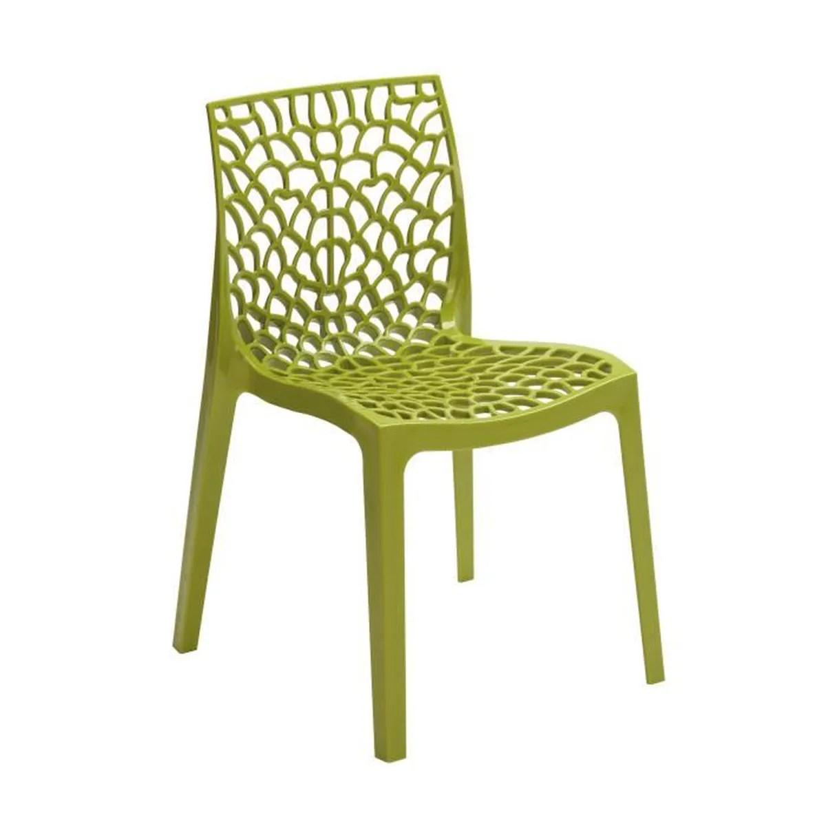 fauteuil jardin green boheme chaise de jardin gruvyer en polypro