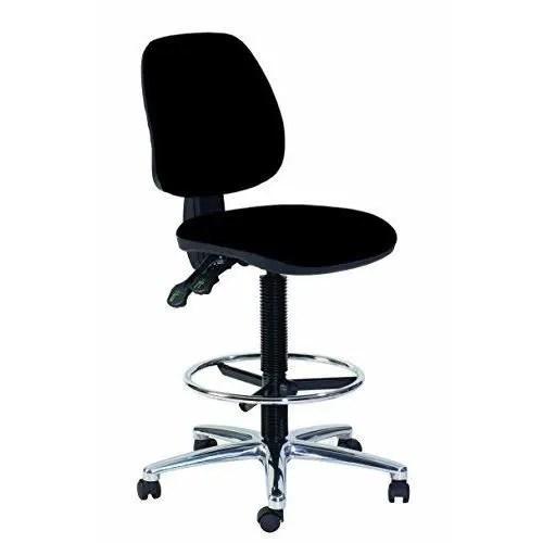 topsit ind201 haute chaise de bureau pivotante avec repose pieds assise et dossier en cuir ecologique rembourres