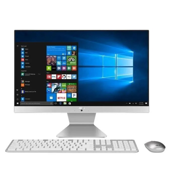 ordinateur tout en un pc de bureau v222gak wa034t 21 5