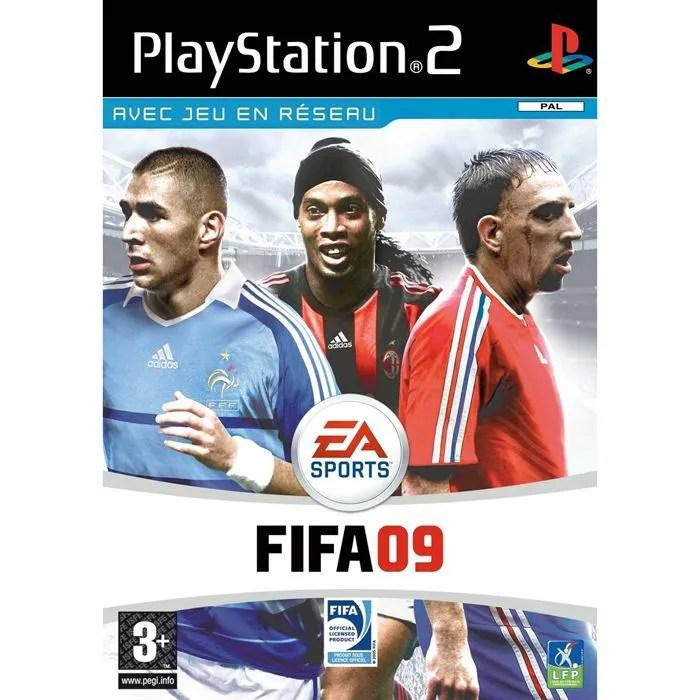 FIFA 09 JEU CONSOLE PS2 Achat Vente Jeu Ps2 FIFA 09