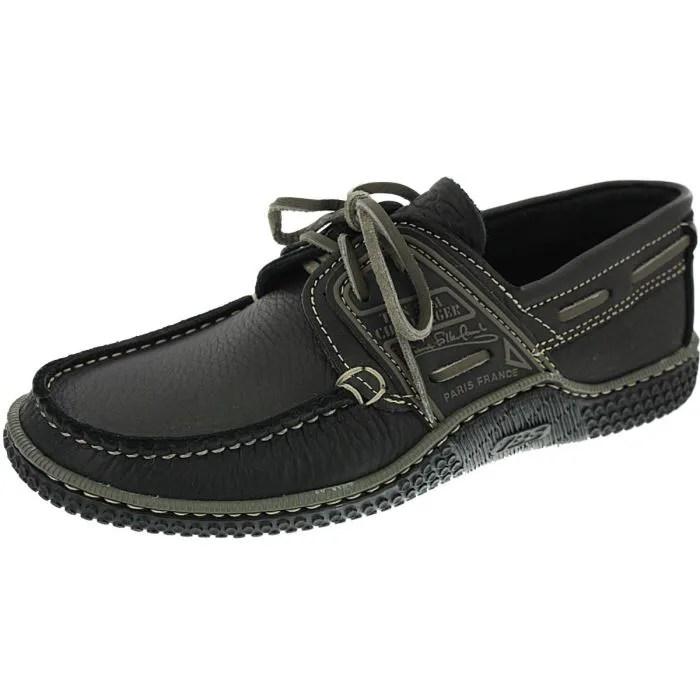 chaussure bateau tbs globek noir