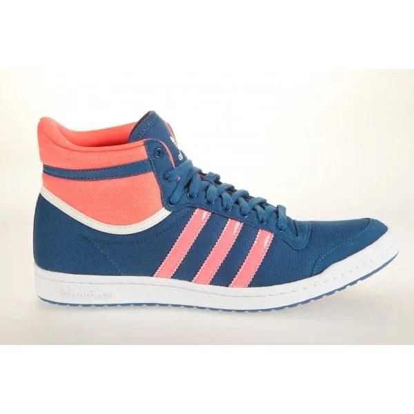 Adidas Chaussures: Basket Adidas Femme Grise Et Bleu