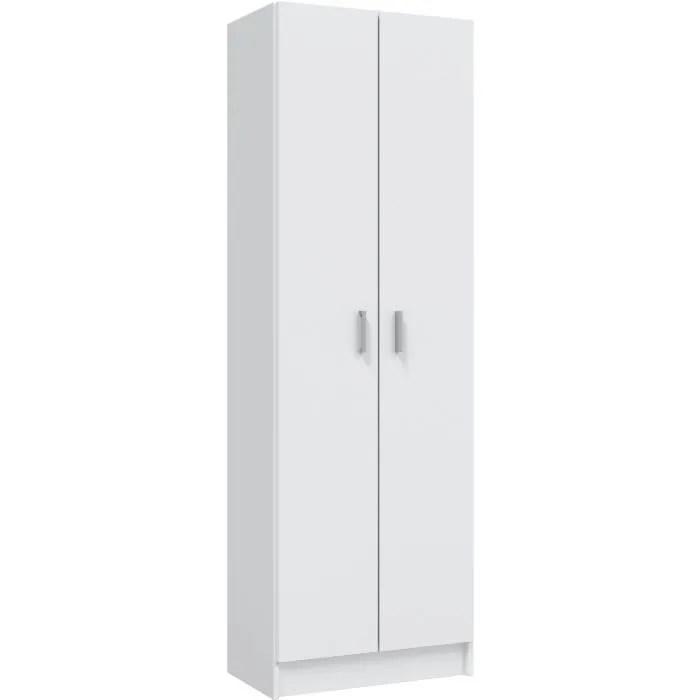 MULTIUSOS Armoire Chaussures Blanc Achat Vente
