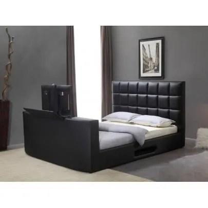 lit profusion avec systeme tv integre 160x200cm