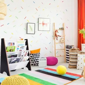 petit meuble rangement bibliotheque etagere de livre d enfants 4 etageres