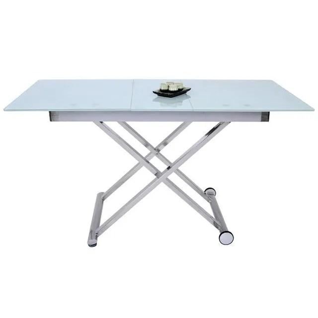 Table Basse Relevable Avec Allonge Saturne 34 Achat