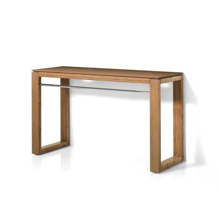 meuble vasque plan table pour salle de bains fabrique en bambou bo