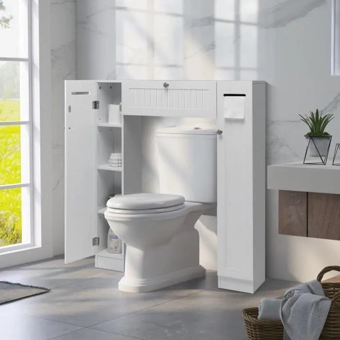 meuble wc armoire de toilette placard de salle de bains etagere de salle de bain