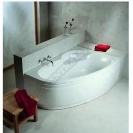 baignoire asymetrique ladiva junior 160x100 cm gau achat vente baignoire kit balneo baignoire asymetrique ladiva j cdiscount
