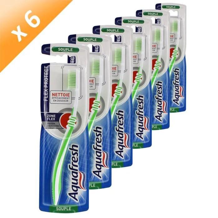 AQUAFRESH Brosse Dent Flex Souple X6 Achat Vente