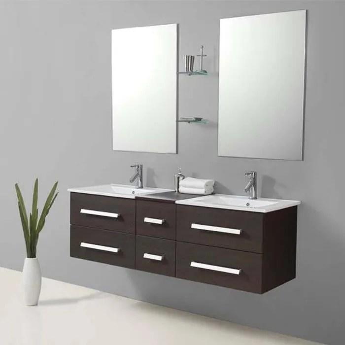 meuble vasque plan riviera2 wenge meuble salle de bain contempor