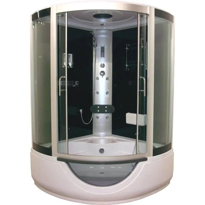 cabine de douche cabine de douche baignoire hydromassante faro 136x