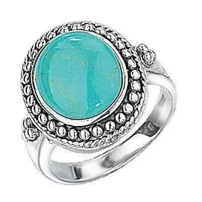 Bague Turquoise En Argent 92510 Turquoise Achat
