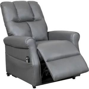 fauteuil fauteuil releveur relax gris a commande electrique