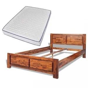 lit complet magnifique cadre de lit et matelas mousse a memoi